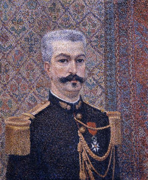 Portrait of Monsieur Pool, 1887 - Albert Dubois-Pillet