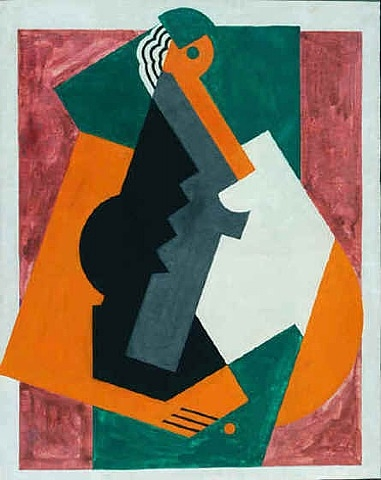 Figure cubiste albert gleizes for Albert gleizes