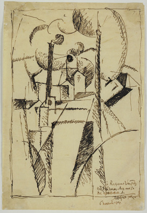 Landscape with Chimneys, 1913 - Albert Gleizes