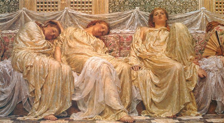 Dreamers, 1882 - Albert Joseph Moore