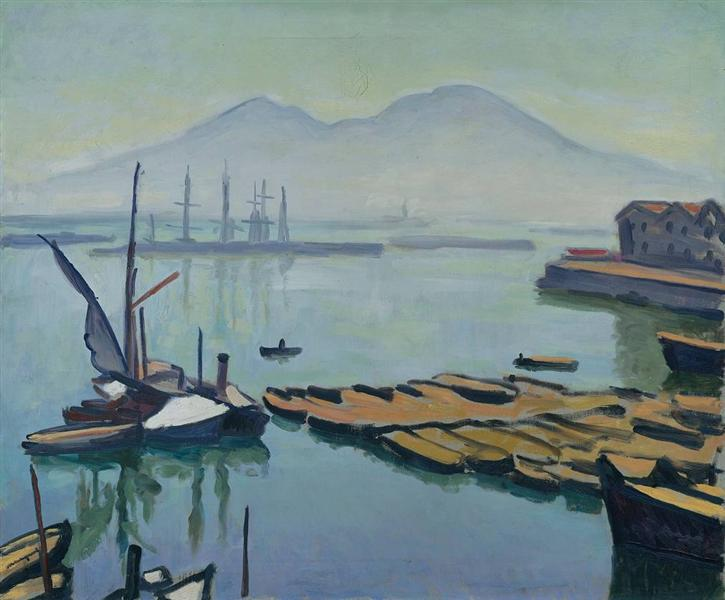 Bay of Naples, 1908 - Albert Marquet
