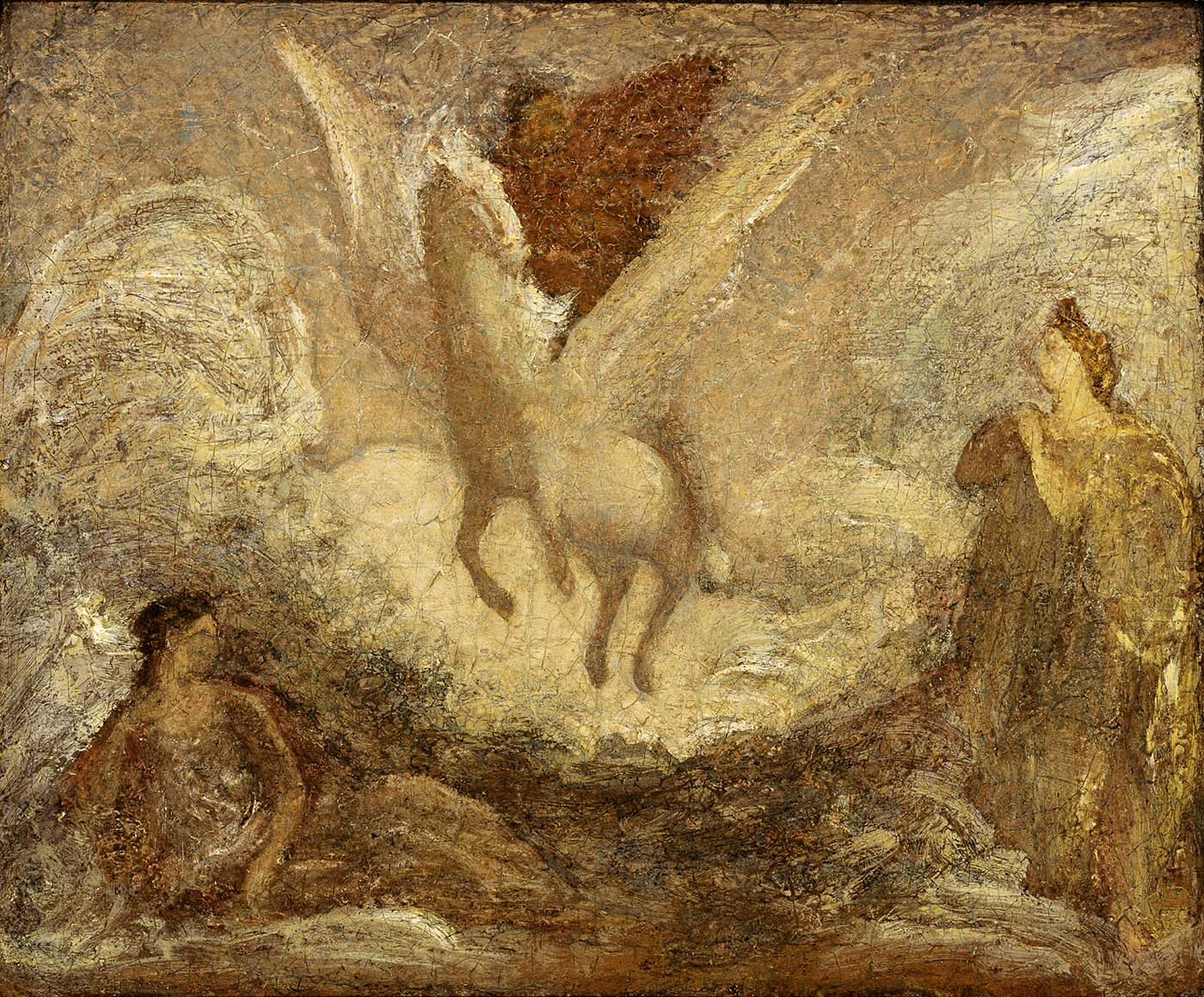 Pegasus Departing, 1901