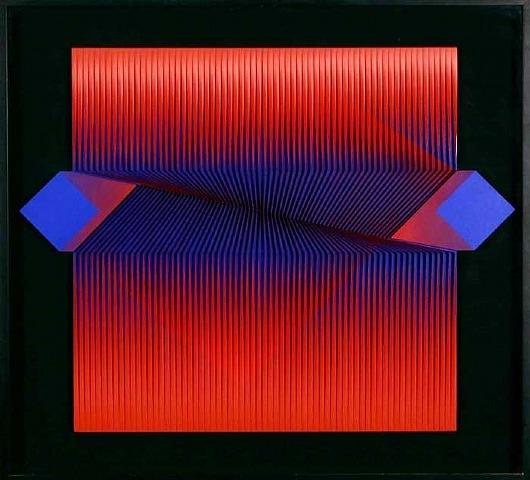 Attraverso senza toccare, 1982 - Alberto Biasi