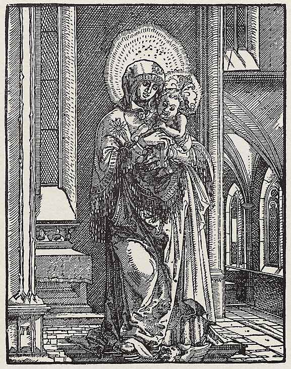 BeautifulMary in theChurch, 1519