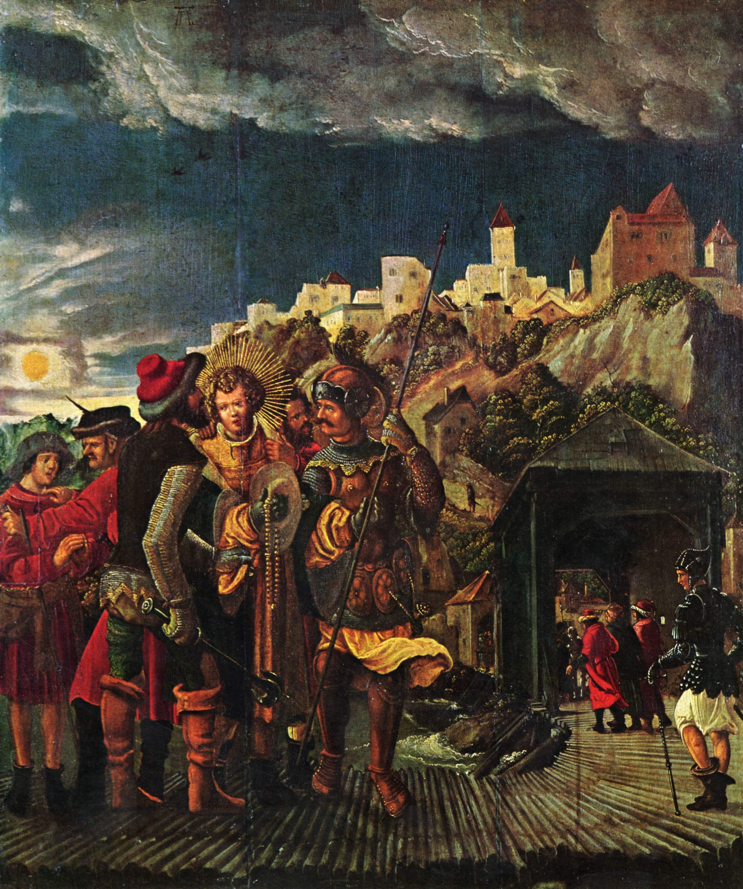 Florianresult, scenesforlegendof St.Florian, 1516-1518
