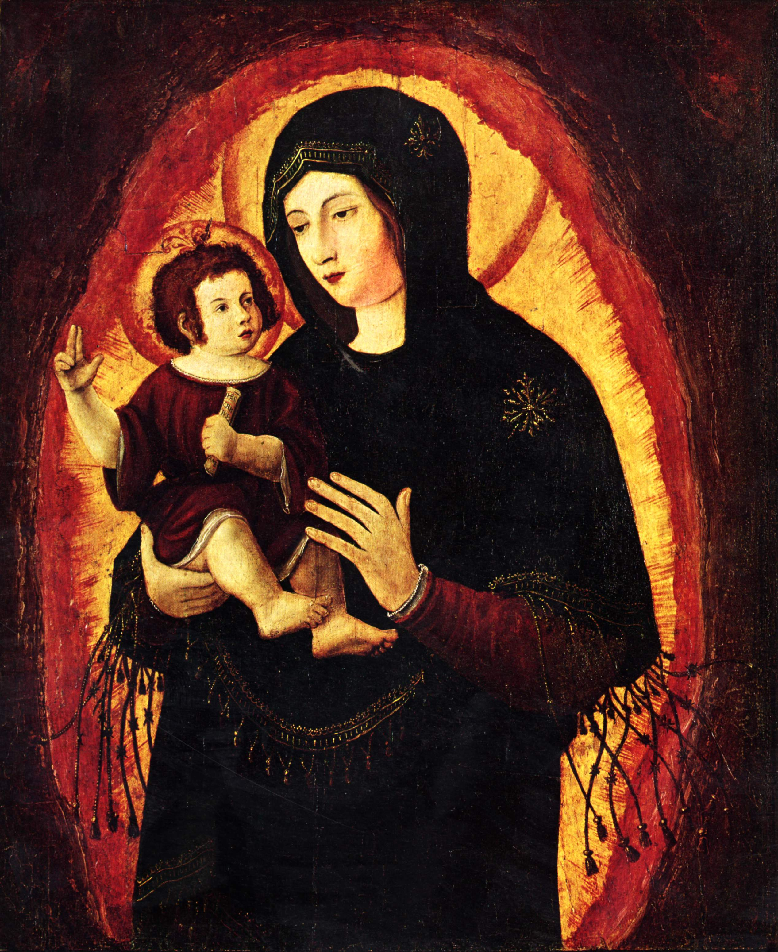Madonna(Beautiful MariaofRegensburg), 1519-1522