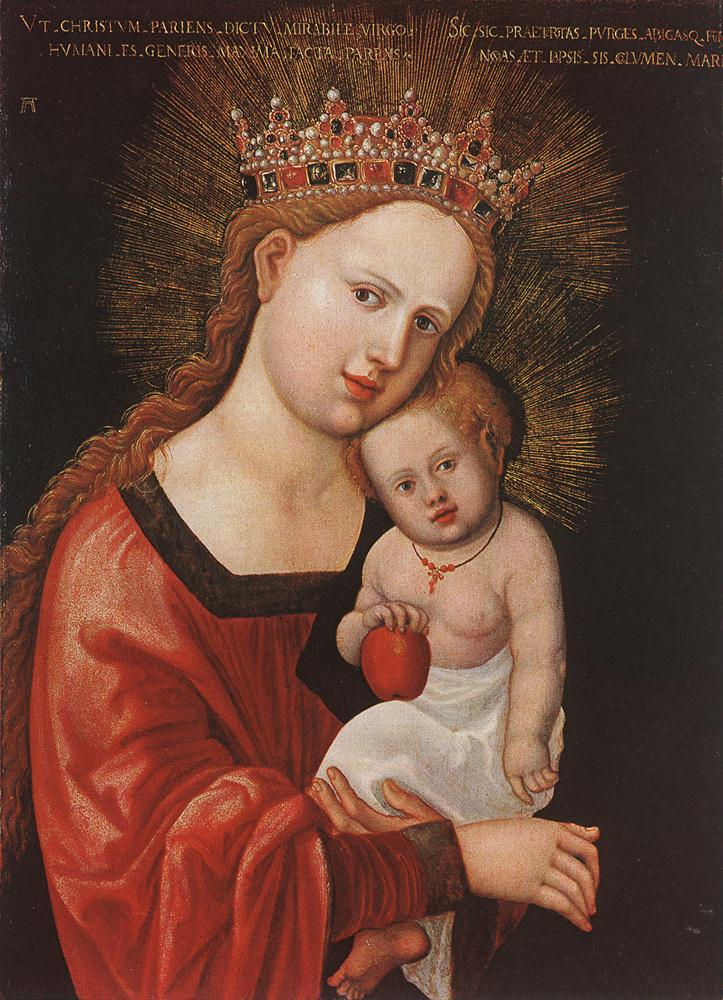 Mary with the Child, 1520-1525