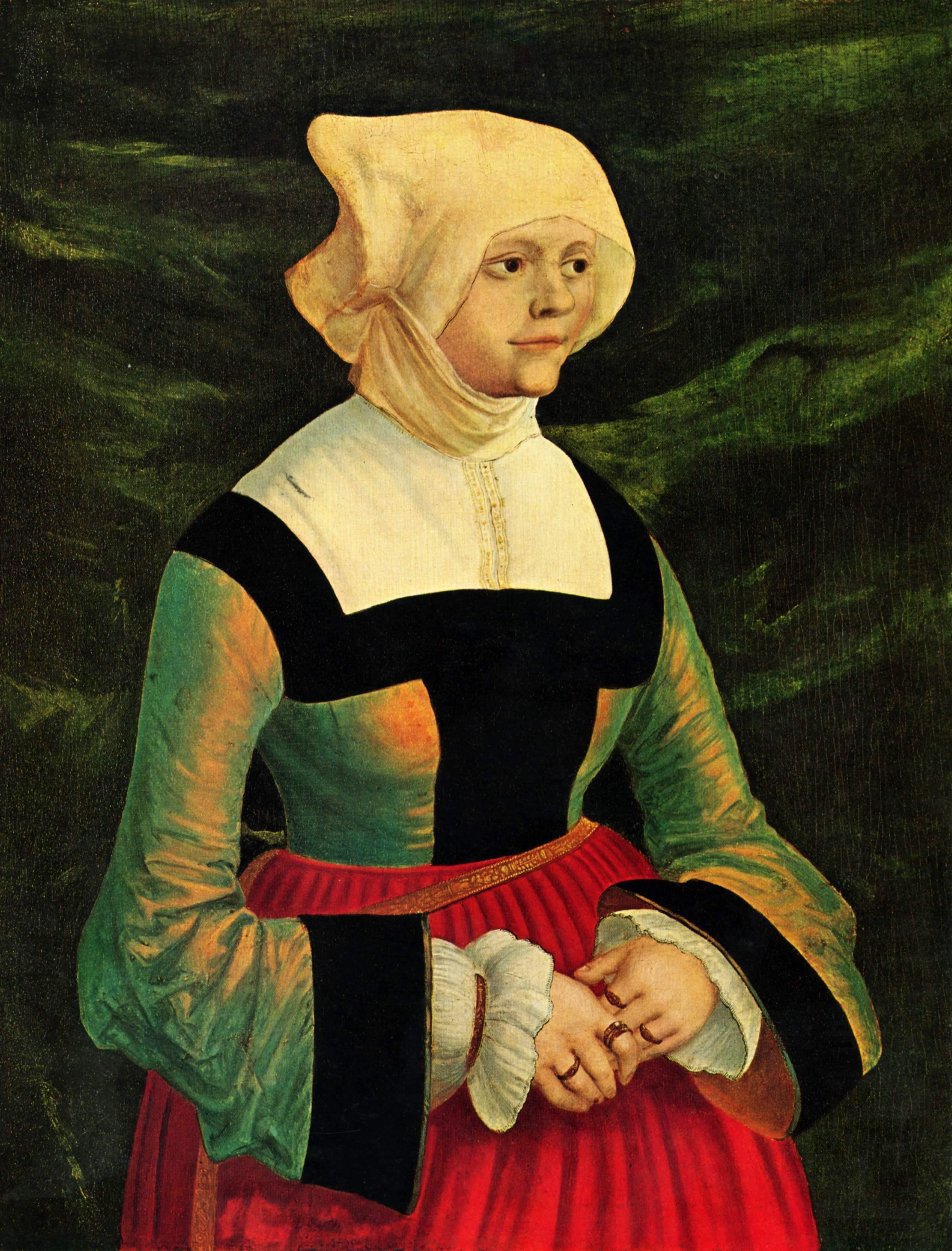 Portrait of a Woman, 1525-1530