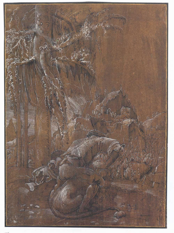 Samson and the Lion, 1512