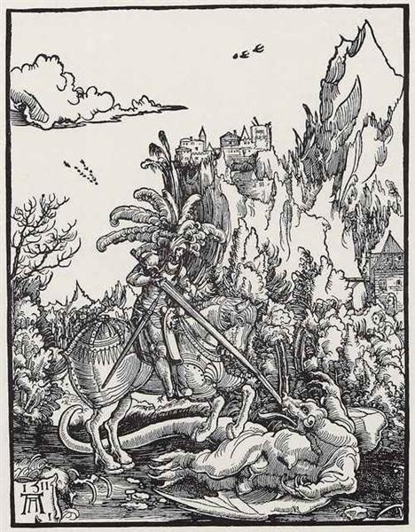 TheSt.George killing thedragonart, 1511 - Albrecht Altdorfer