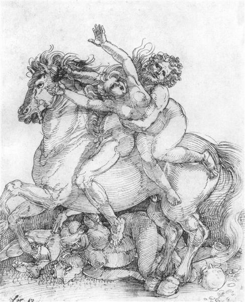 Abduction - Albrecht Durer