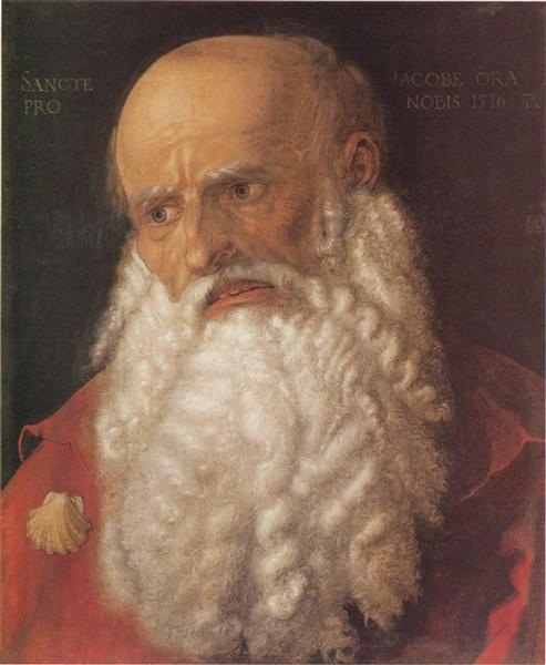 Apostle James, 1516 - Albrecht Durer