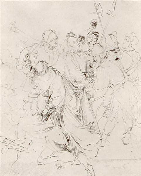 Arrest of Christ - Albrecht Durer