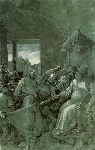 Christ before Caiaphas, 1504 - Albrecht Durer