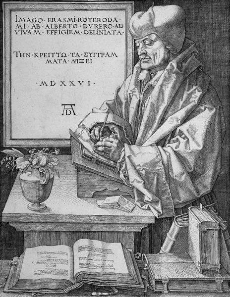 the life and books of desiderius erasmus Books by and about desiderius erasmus  now what else is the whole life of  mortals but a sort of comedy, in which the various actors, disguised by various.