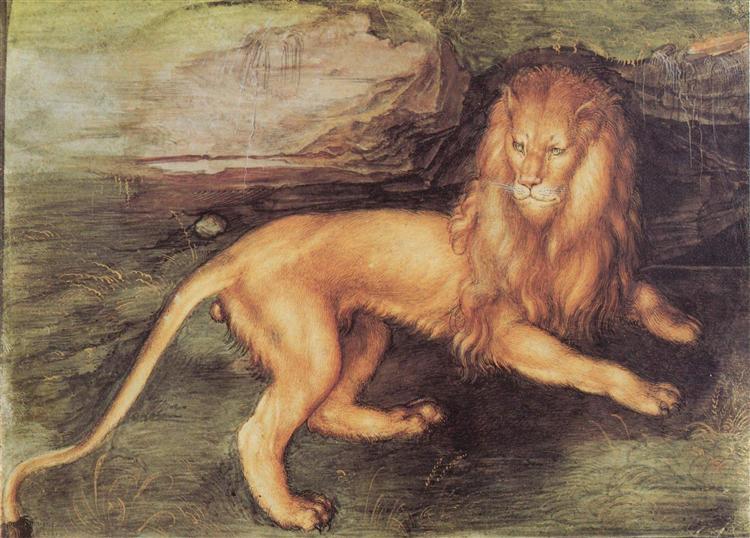Lion, 1494 - Albrecht Durer