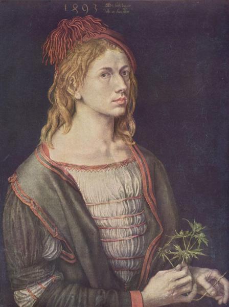 Self-Portrait, 1493 - Albrecht Dürer