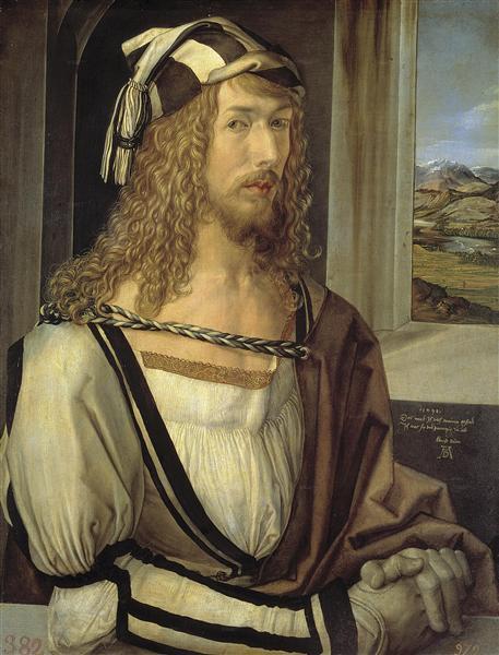 Self-Portrait, 1498 - Albrecht Durer