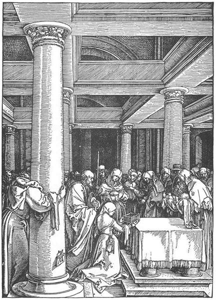 The Presentation of Christ in the Temple, 1505 - Albrecht Durer