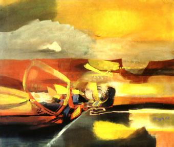 Agua cálida, 1962 - Alejandro Obregon