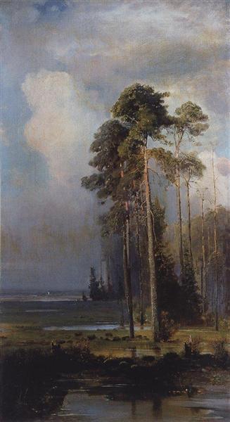 Autumn.Sokolniki, 1880 - c.1890 - Aleksey Savrasov
