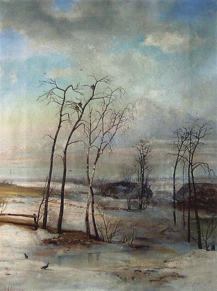 Breath of spring, c.1890 - Aleksey Savrasov