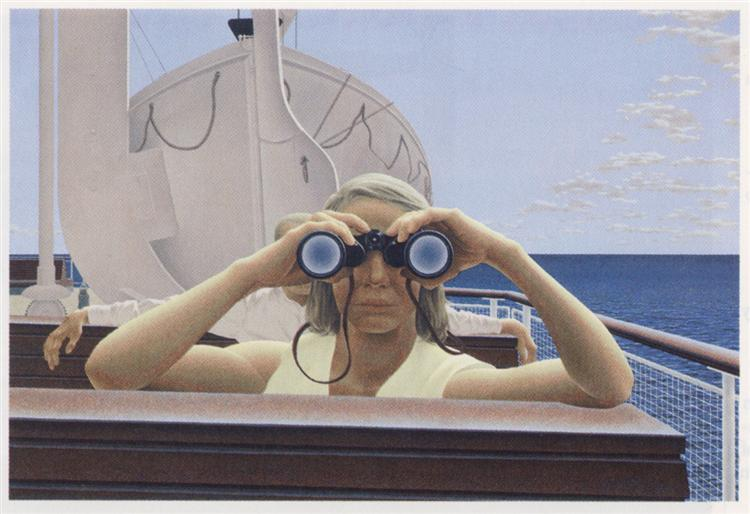 To Prince Edward Island - Alex Colville