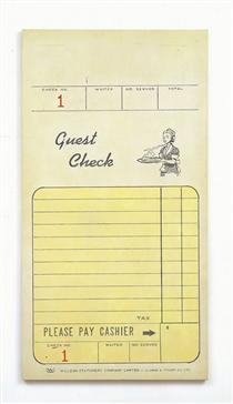 Guest Check - Alex Hay