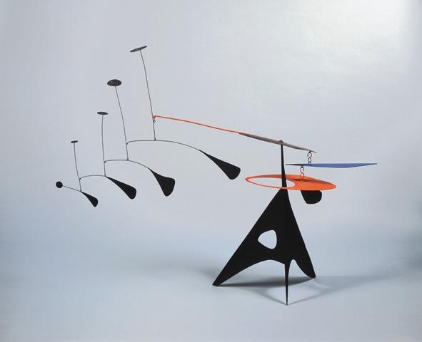 Blue Feather, 1948 - Alexander Calder - WikiArt.org
