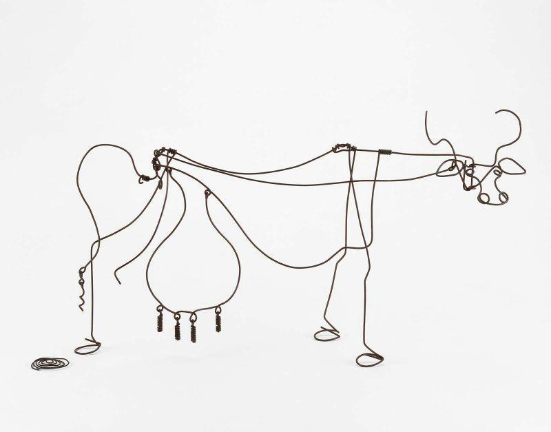 Alexander Calder Circus Drawings Cow - Alexander Calder