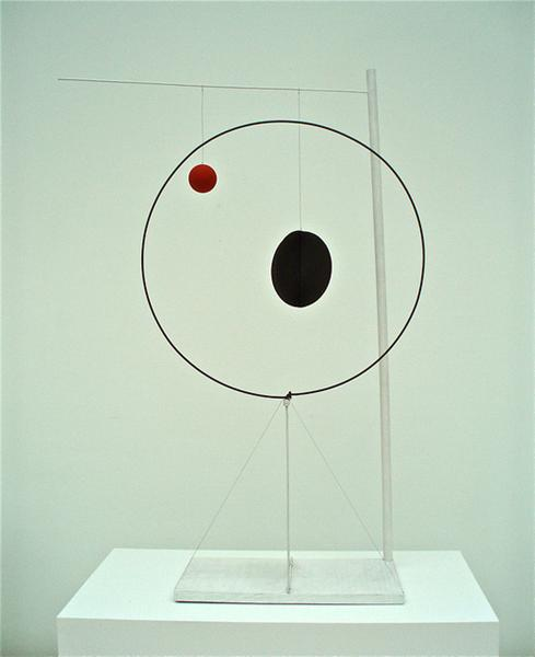 Object with Red Ball, 1931 - Alexander Calder