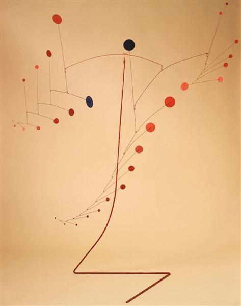 Red Cascade, 1954 - Александр Колдер