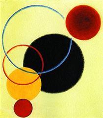 Objectless composition № 65 (Still life) - Александр Родченко