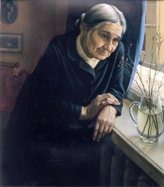 Rosemary Flowered, 1980 - Alexander Shilov