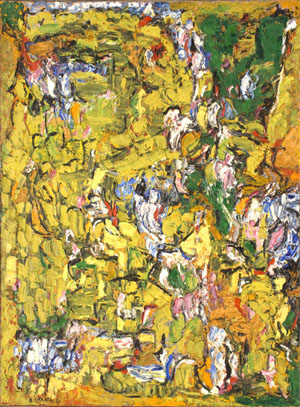 Abstract Composition, 1956