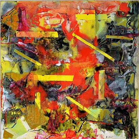 Composition, 1966 - Alexandre Istrati