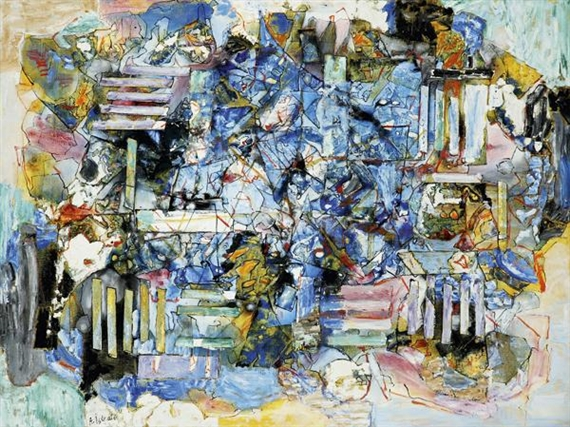 Composition, 1975 - Alexandre Istrati