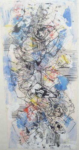 Composition, 1983 - Alexandre Istrati