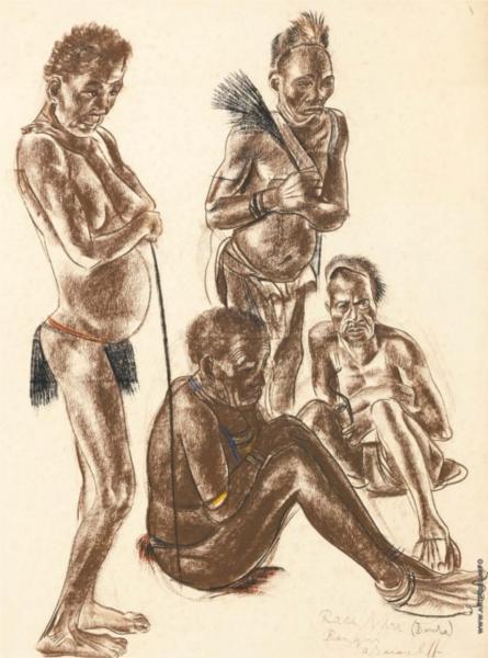 Los hombres de la tribu - Banda Jacovleff Alexandre