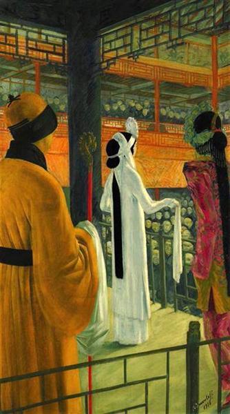 Beijing Opera - Jacovleff Alexandre