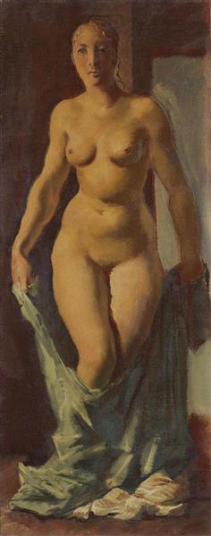 De pie desnudo - Jacovleff Alexandre