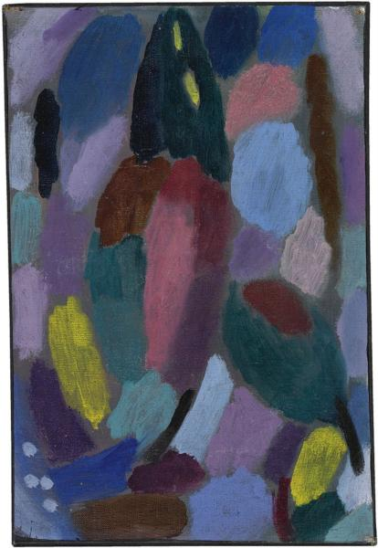 Variation: Field of Tulips - Alexej von Jawlensky