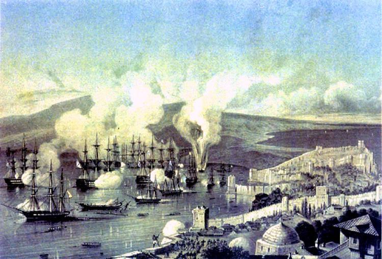 Battle Of Sinop - Alexey  Bogolyubov