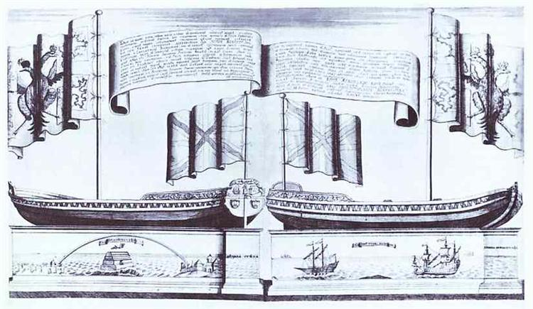 Boat of Peter I, 1722 - Alexey Zubov