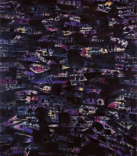 Favellas III, 1980 - Альфред Манесье