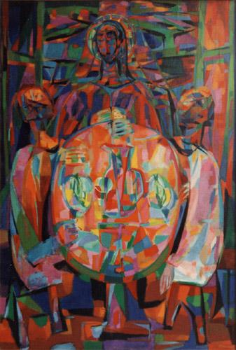 Les Pélerins d'Emmaus, 1944 - Alfred Manessier