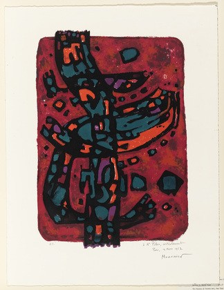 Living Flame, 1954 - Alfred Manessier