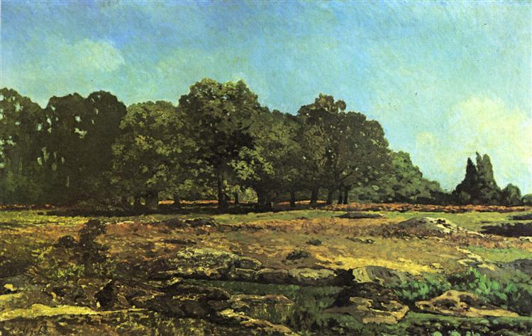 Avenue of Chestnut Trees near La Celle Saint Cloud, 1865 - Alfred Sisley