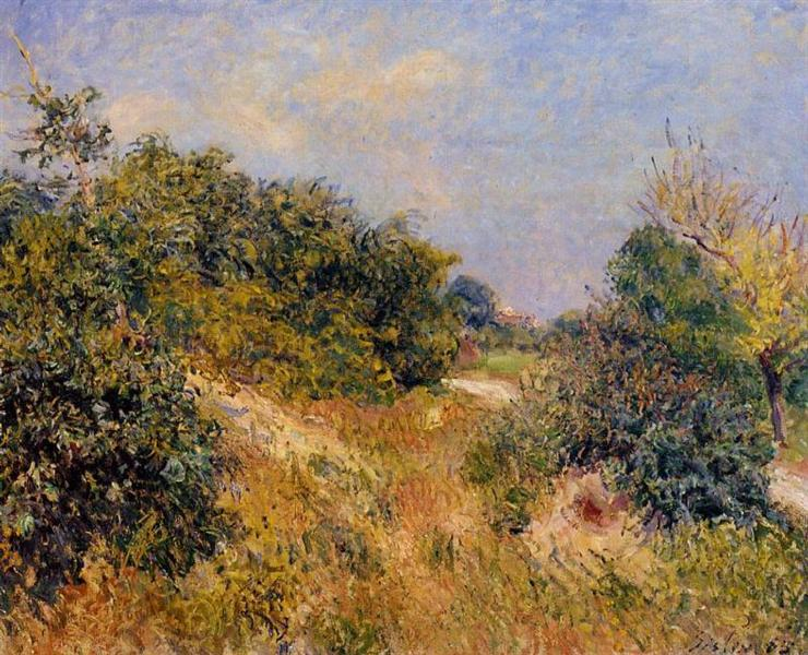 Edge of Fountainbleau Forest June Morning, 1885 - Alfred Sisley