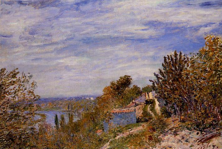 Footpath in the Gardens at By, c.1881 - Alfred Sisley